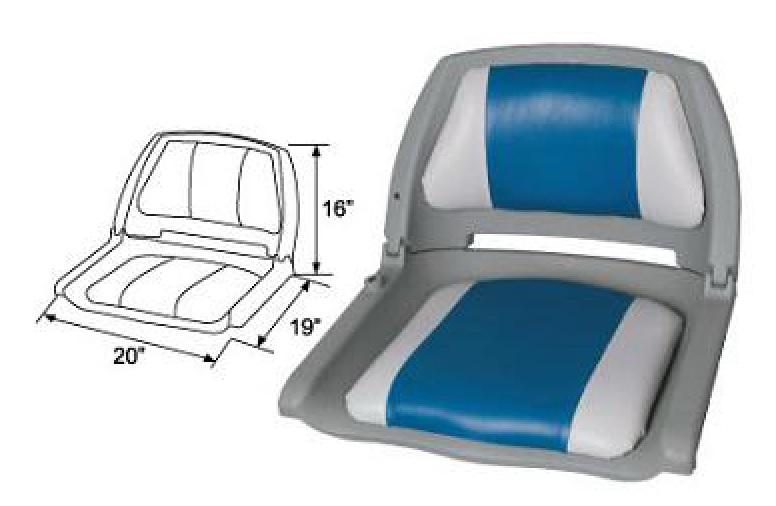 сиденья для лодок складные пластиковые