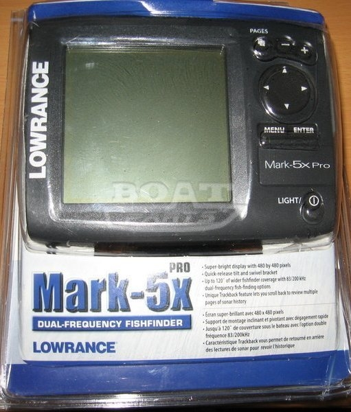 lowrance mark 5x pro как он