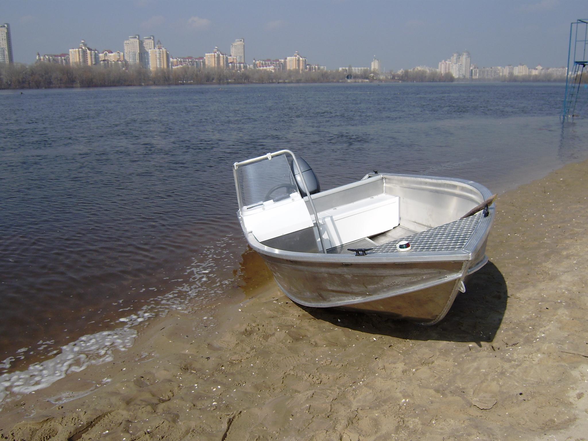 изготовление алюминиевых лодок в украине
