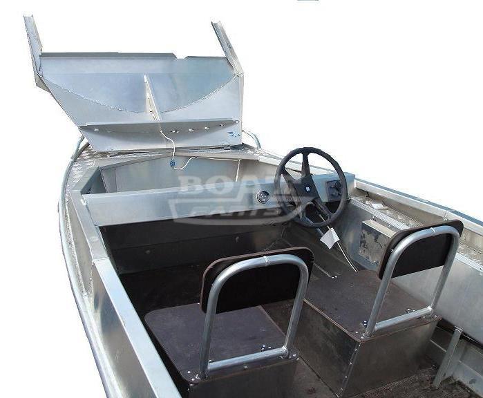 лодки алюминиевые под мотор вельбот