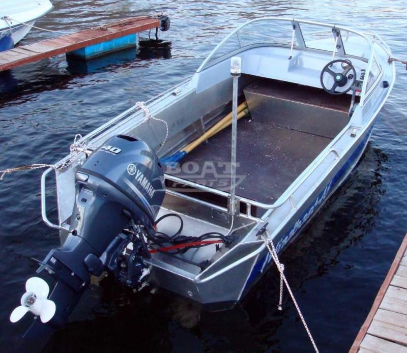 лодка металл под мотор