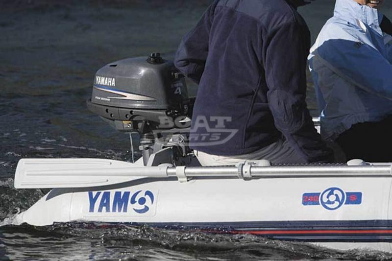 лодочные моторы yamaha f 4 amhs