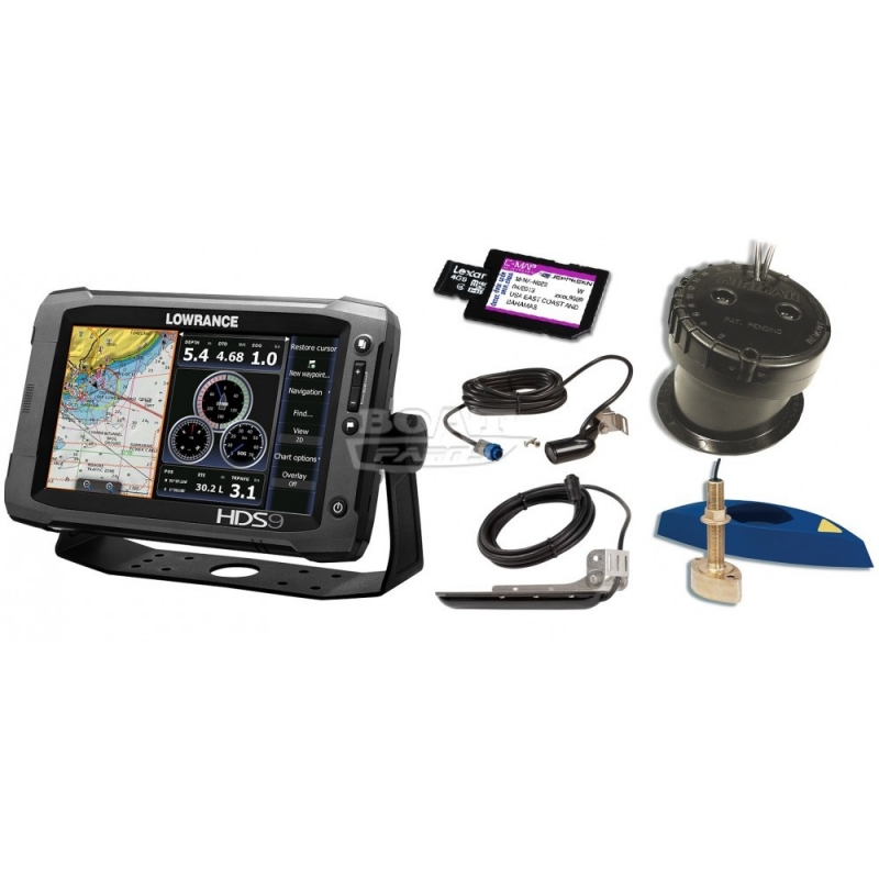 hds 9 gen 2 touch от lowrance